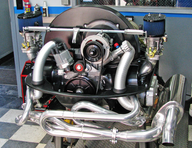 Turnkey Engines / Custom Aircooled VW Motors, built by Pat