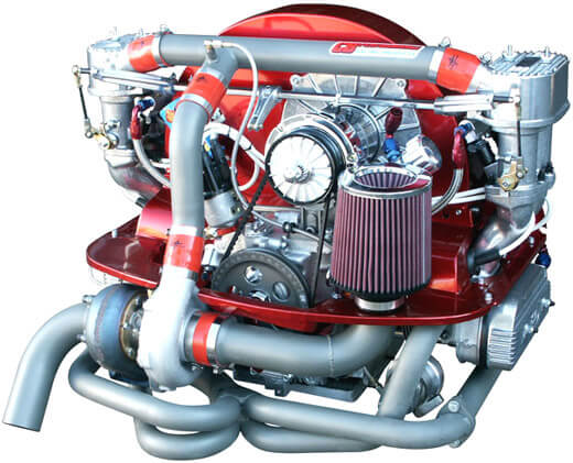 2332cc Turbo Injected Engine now installed in a 356 Kit Car