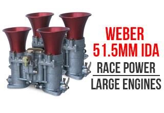 51.5mm Weber IDA